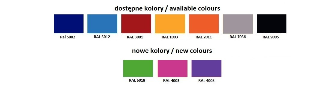 Wzornik kolorów Polimat